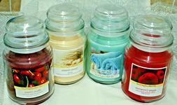 1- 18 oz Container Jar Candle~Scented~U Choose Scent~USA Mad