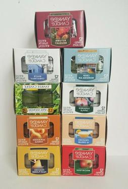 Yankee Candle 12 Pack Scented Tea Lights Candles.Assorted Fr