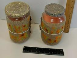 2  Handmade Soy Candle In  Recycled Jar  in Scent  Egyptian