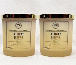 2 DW Home VANILLA BRULEE Richly Fragranced Scented Wax Candl