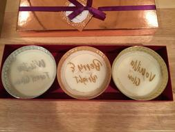 3 Scented Candles Ulta Boxed Gift Set Berry Vanilla Winter M