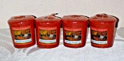 Yankee Candle Autumn in the Park scented votives lot 4 new r
