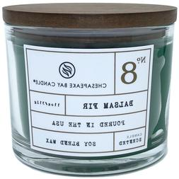 Chesapeake Bay Balsam Fir Scented Candle with Wooden Lid