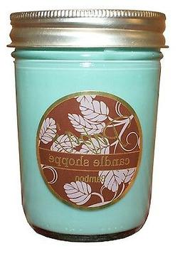 Bamboo Scented Soy Candles, Soy Candle, 8 oz Jelly Jar, Burn