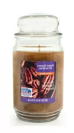 Better Homes Gardens Candied Caramel Pecan Scented Candle Ja