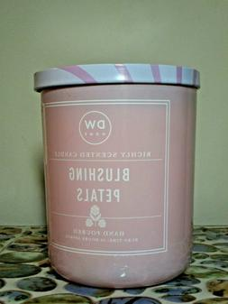 DW Home BLUSHING PETALS Richly Scented Candle Double Wick 15