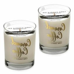 Caramel Coffee Premium Soy Blended Wax Jar Candle- Perfect f