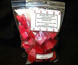 CHERRIES IN THE SNOW Scented Tart Wax Melts Chunks Chip Home