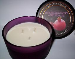 DW HOME DECOWARE POMEGRANATE BLACK TEA SOY WAX SCENTED CANDL