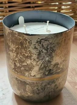 Hearth and Hand with Magnolia Large Galvanized Candle Balsam