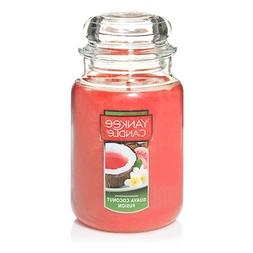 Yankee Candle Large Jar Candle, Guave Coconut Fusion