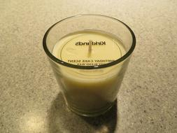 Kirkland's BIRTHDAY CAKE scented candle in glass, 7.2 oz,