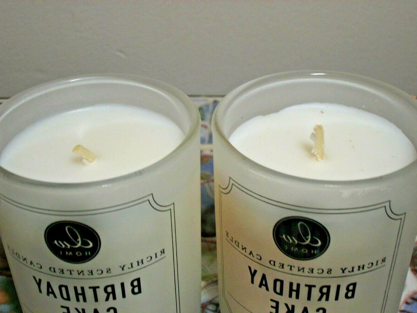 2 Home CAKE Richly Candles Small
