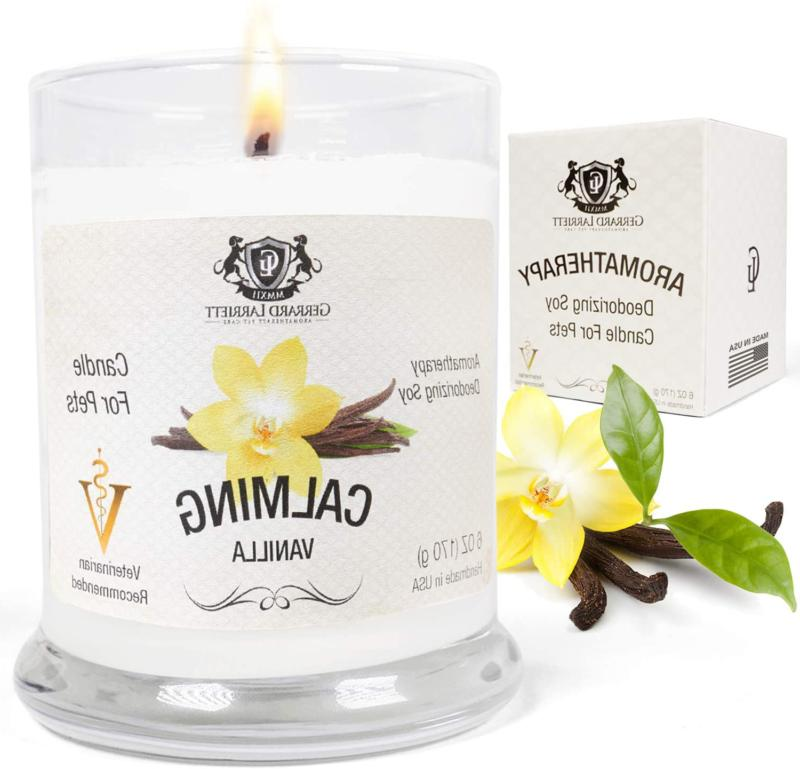 aromatherapy deodorizing soy candle for pets candles