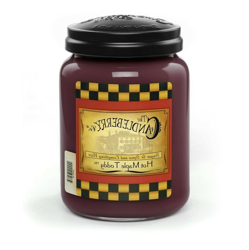 candles hot maple toddy 26 oz from
