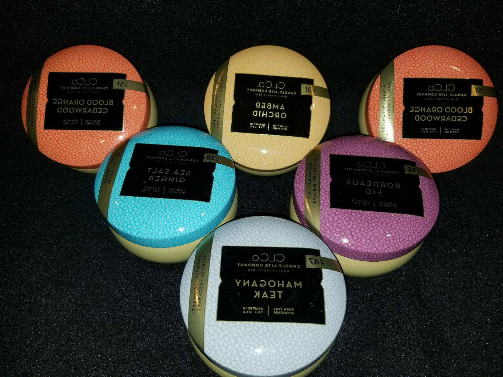 co new candles assorted scents perfect gift
