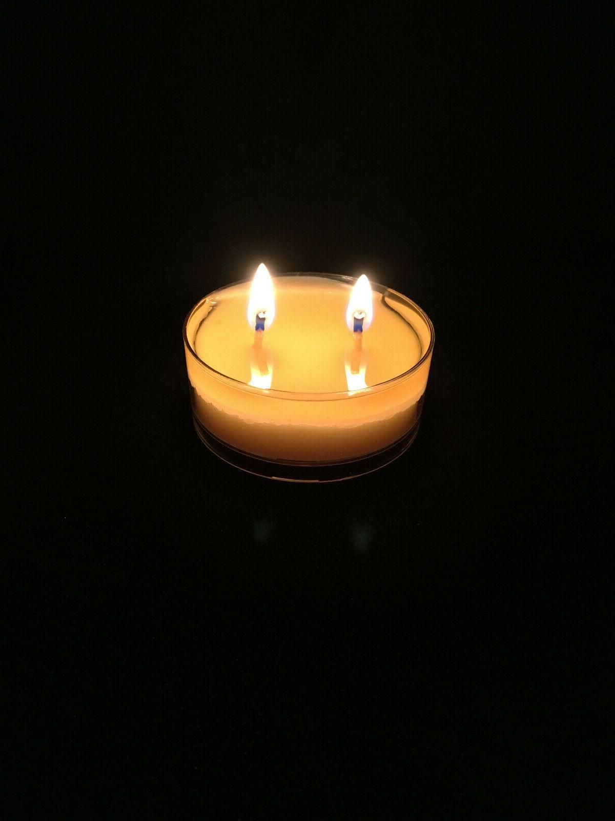 hand made organic beeswax spa candles scent