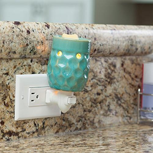 Candle Etc. Turquoise Pluggable