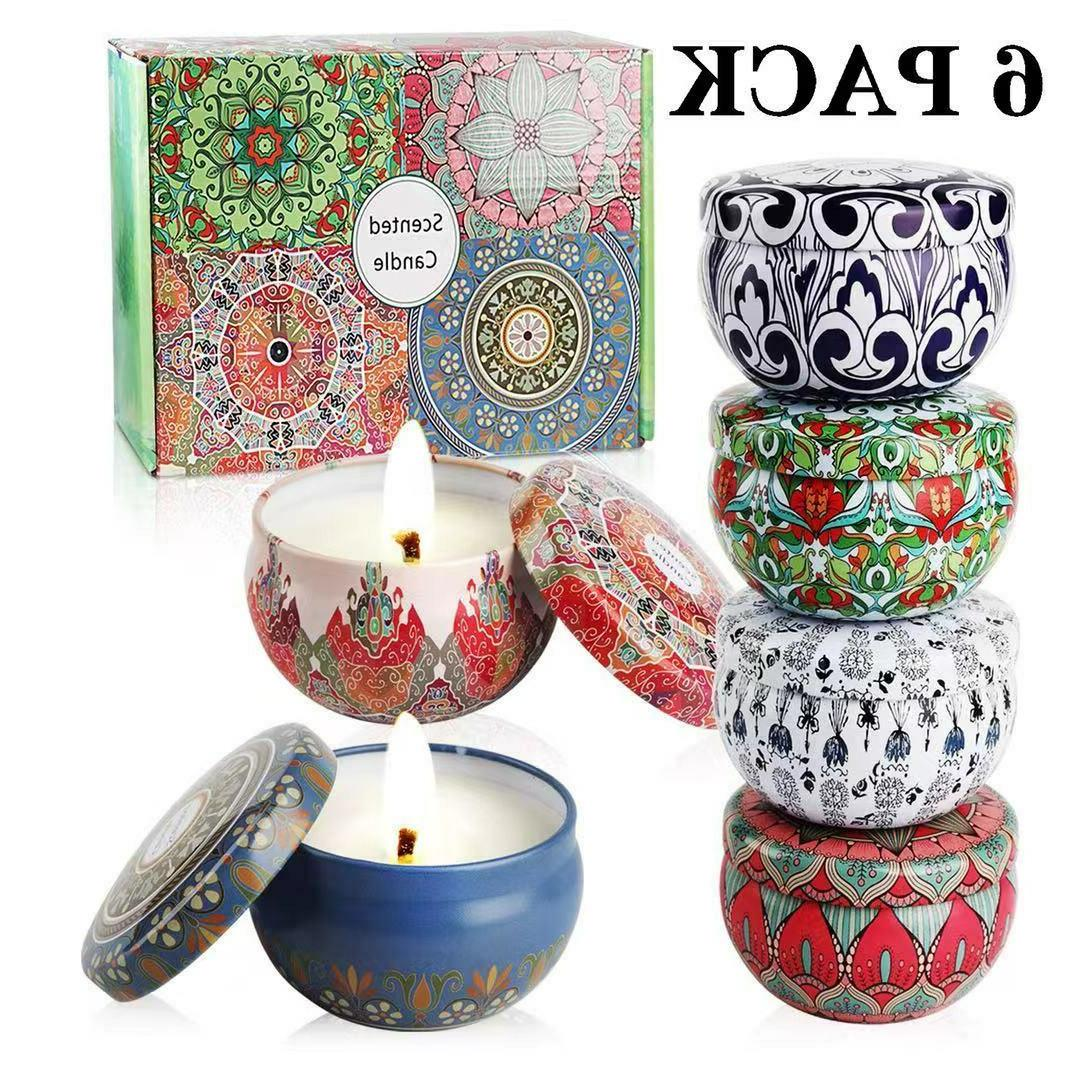 Scented Gift Aromatherapy Candle Sets Gift