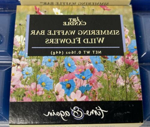 Art Candle Simmering Bar Flowers 1.6 Ounce