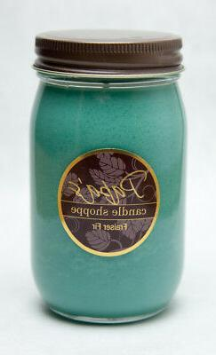 Soy Candles Highly Scented, Papa's Candle Shoppe, Fraser Fir