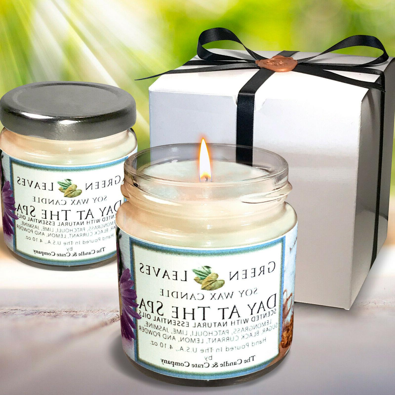 soy candles that smell amazing 4oz jars