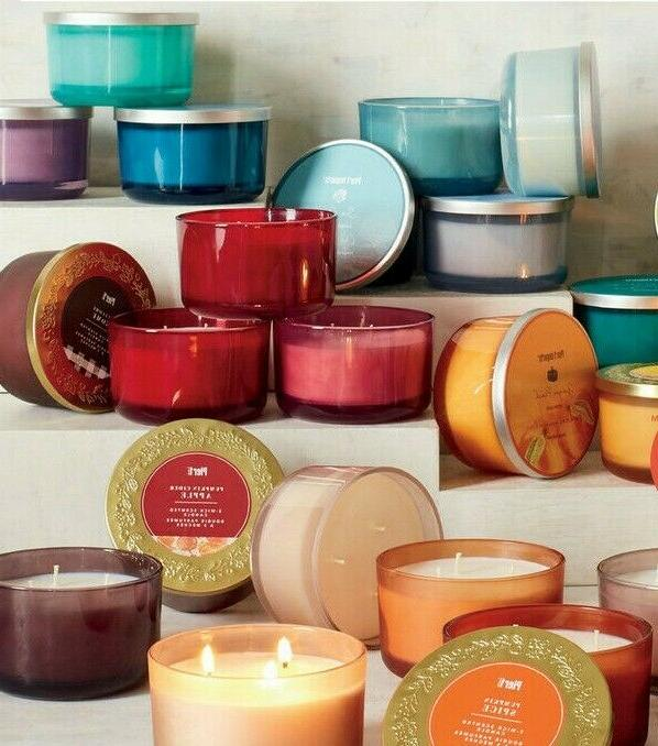 you choose 3 wick scented candle decorative