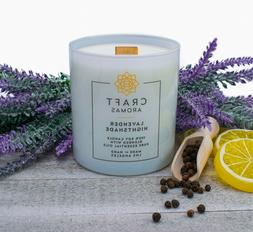Lavender Scented Candle - Lavender Nightshade Aroma Therapy