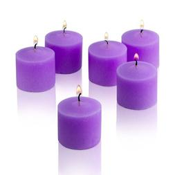 Lavender Scented Candles - Bulk Set of 72 Scented Votive Can