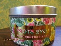 love story scented candle fig cedarwood amber