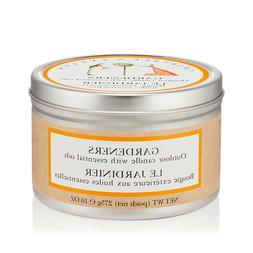 NEW Crabtree & Evelyn Gardeners Outdoor Candle with Essentia