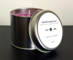 organic soy and beeswax scented candles various
