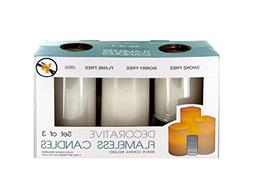 bulk buys OS332 Flameless Vanilla Candles with Remote Contro
