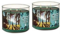 QTY 2X Bath and Body Works 3 Wick 14.5 Ounce Scented Candle
