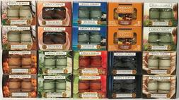 RARE Yankee Candle Set of 2 12 Pack SCENTED TEA LIGHT CANDLE