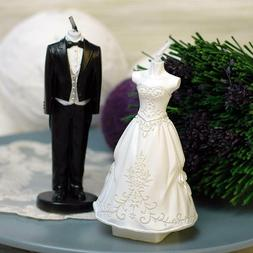 Romantic Candles Scented Weddings Cake Toppers Flameless Can