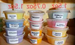 Scented Candle SOY Wax Tarts Melts Strong CHOOSE SCENTS 1.5