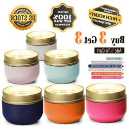 Scented Candles Aromatherapy Long Lastings Soy Candles for H