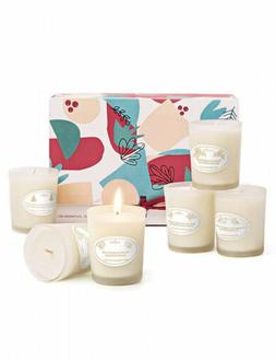 Anjou Scented Candles Gift Set, 6 Pack Natural Soy Wax Aroma