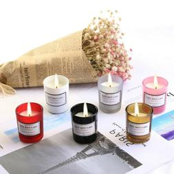 Scented Candles Gift Set Natural Soy Wax Aromatherapy Aromat