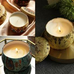 Fashion Scented Candles Gift Set Natural Soy Wax  Aromathera