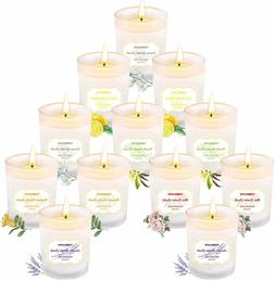 Tobeape Scented Candles Gift Set Natural Soy Wax 2.5 Oz Port
