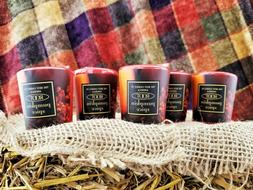 Scented Red Votives -PUMPKIN SPICE- 4,6,12,24 Pack. Root 20h