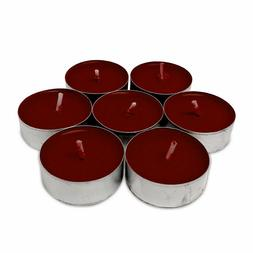 Scented Tealight Candles, FRESH RASPBERRY—All Natural, FRE
