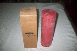 Root Scented Timberline Pillar Candle, 3-Inch by 9-Inch Tall