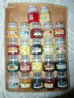 Small Yankee Candle 3.7 oz. Jars - You choose your Scent - F