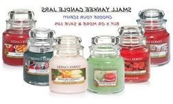 ☆☆SMALL YANKEE CANDLE JARS 3.7 OZ☆☆YOU CHOOSE THE SC