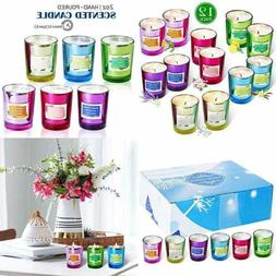 Soy Candle Strong Scented Candles Aromatherapy Long Lasting
