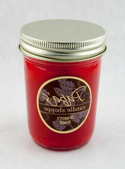 Soy Candles, Dragons Blood, Highly Scented Soy Candles 8 oz