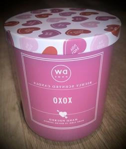 VALENTINES DAY DW Home Richly Scented Candle XOXO 9.3 Oz.